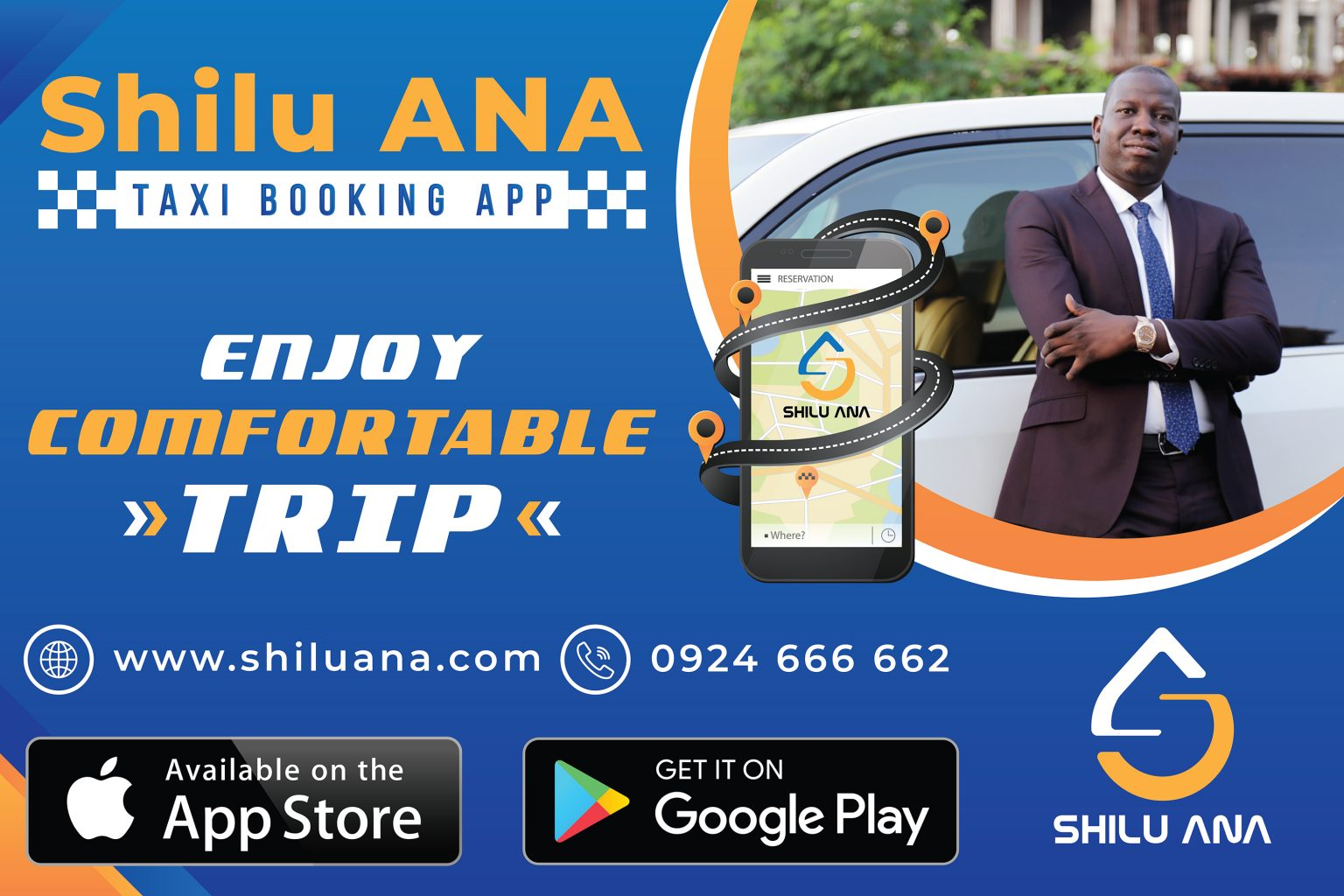 Taxi booking app in South Sudan